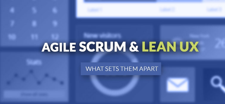 What is AGILE, SCRUM & LEAN UX design?
