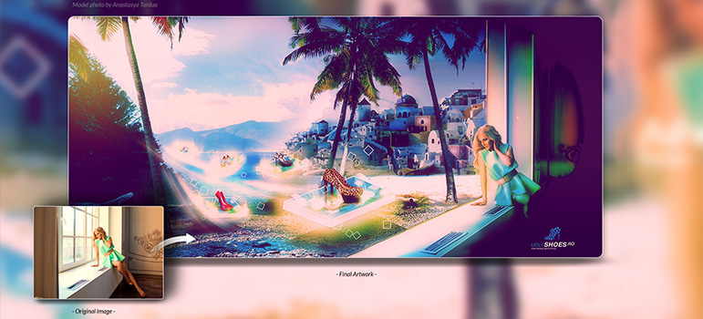 8 Photoshop Photo Manipulation Videos from my graphic design portfolio that showcases the power of Photoshop